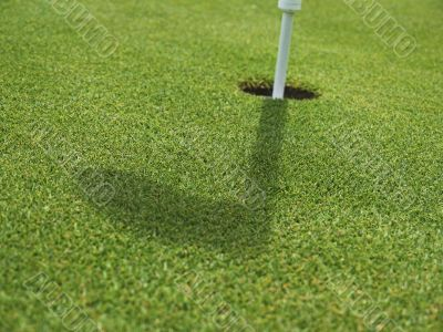 Golf - Grass with Hole