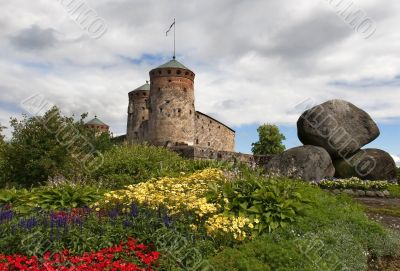 the fortress town of Savonlinna
