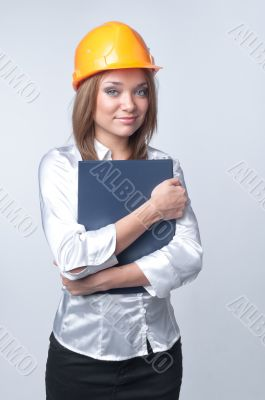 Young craftswoman