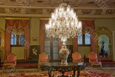 Chandelier in the Conference Room - Dolmabahche Palace