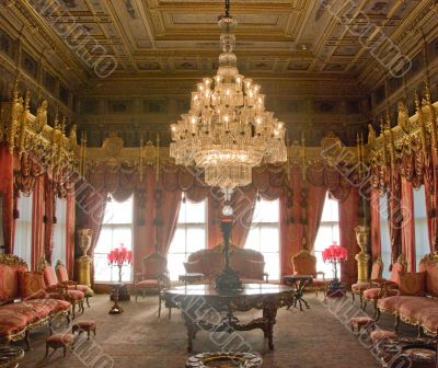 Visitors Hall - Dolmabahche Palace,wide view