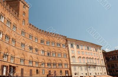Siena main square
