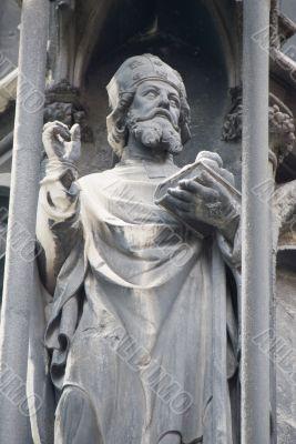 St. Stephen Church in Vienna - statue