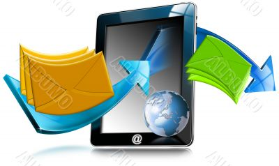Tablet Computer Email