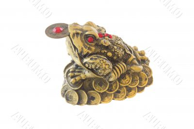 Symbol of Feng-Shui, Three-legged frog , good fortune