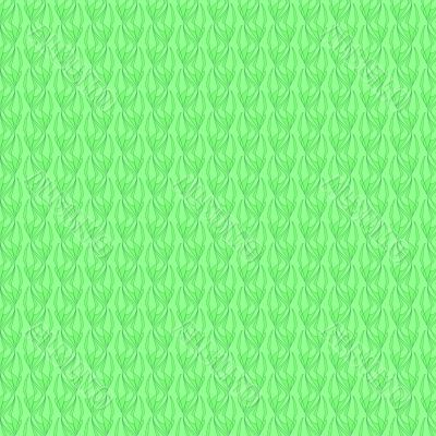 Seamless green wallpaper pattern