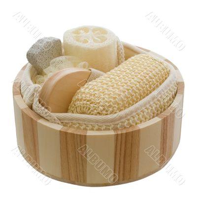 Wellness - wooden bowl