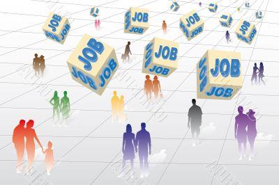 Unemployment, Employment and work