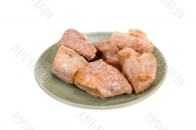 bit of fried meat