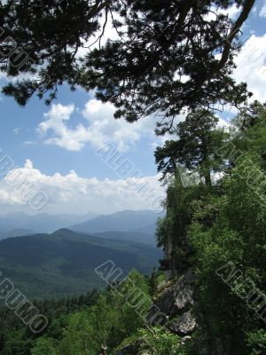 Caucasian ridge