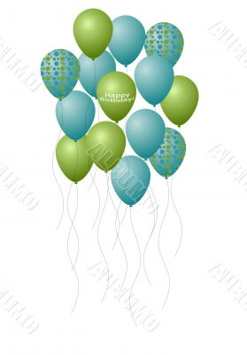 Bouquet of Birthday Balloons