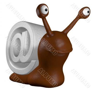slug with email alias