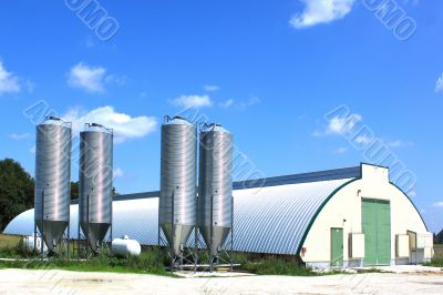 shed and silos
