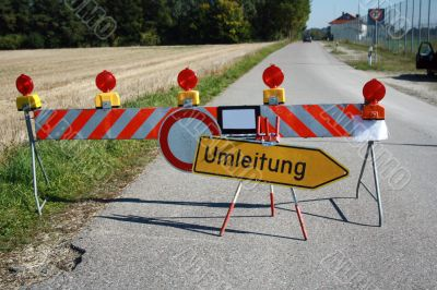 diversion to other road