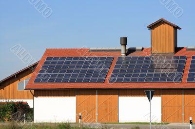 renewable energy on the roof