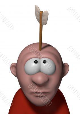 arrow in head