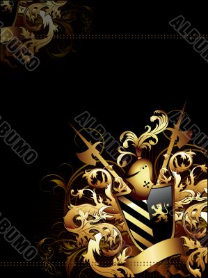 coat of arms background