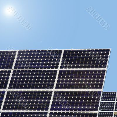 collects solar energy solar