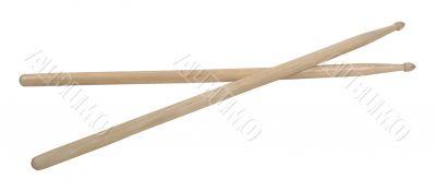 Crossed Drum Sticks