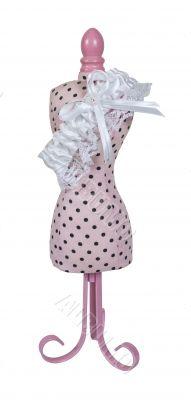 Dress Form with Garter Belt