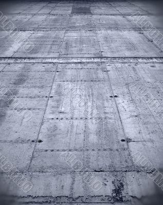 High concrete grunge wall.