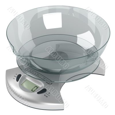 Food scales five kilo