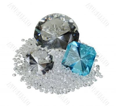 Large and Small Diamonds and Gem