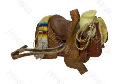 Old Western Saddle