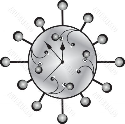 clock bacground