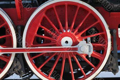 crank locomotive
