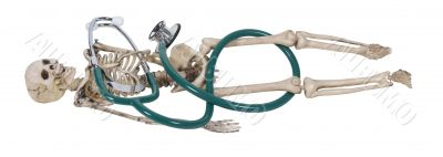 Skeleton and Stethoscope