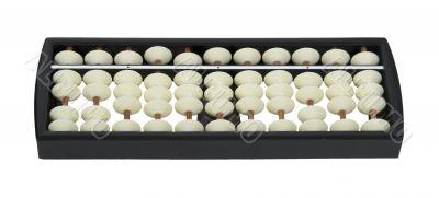 White Bead Abacus