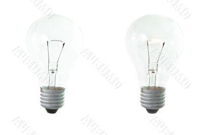 Isolated Bulb