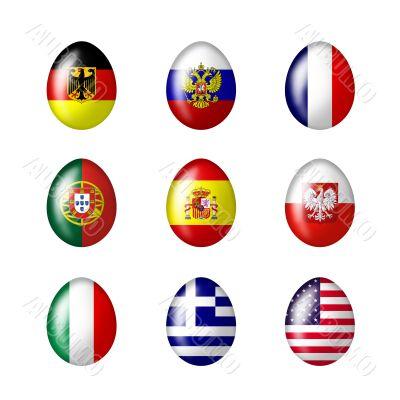 International eggs