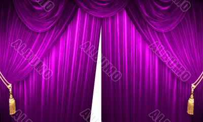 Noble Theater Curtains