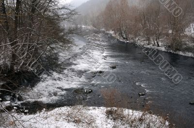 Yantra River in the Winter