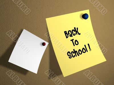 isolated sticker with back to school text