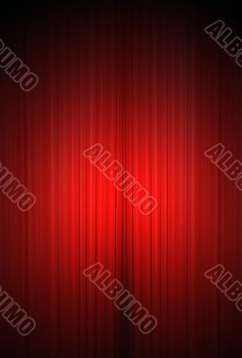 Theater curtain in vertical format