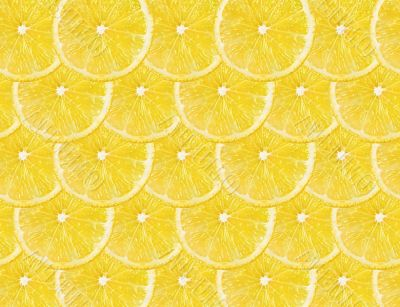 lemons fruit background