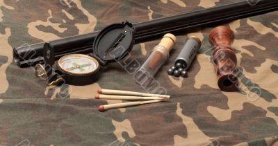 Hunting still-life.