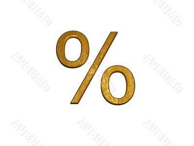 3d golden percent