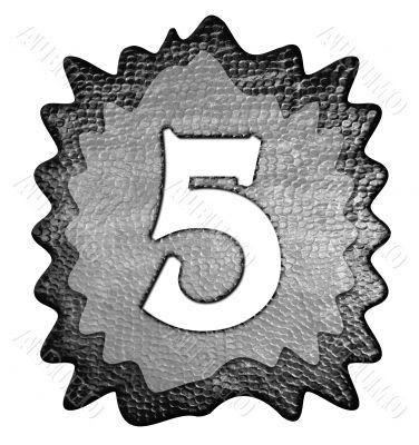 3d metal five number