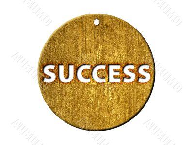3d golden success