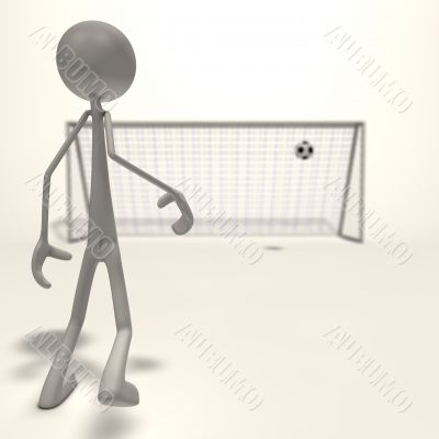 shot for the goal