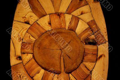 art in wood