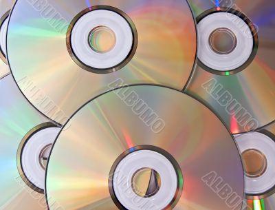 Heap of disks