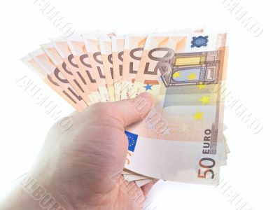 The isolated 50 euros