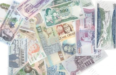 Money different countries