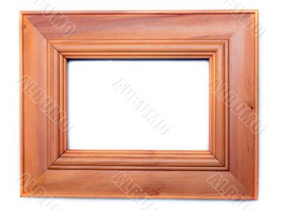 Wooden frame for photography