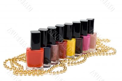 Colour varnish for nail
